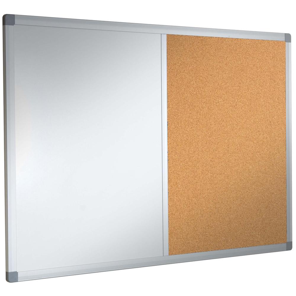 Cork whiteboard combination notice board for Creative notice board