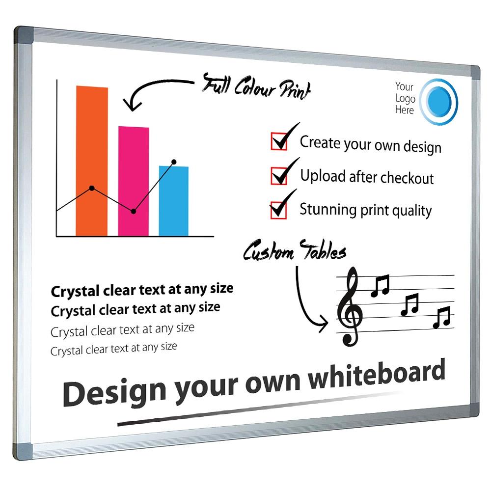 Custom Printed Magnetic Whiteboard