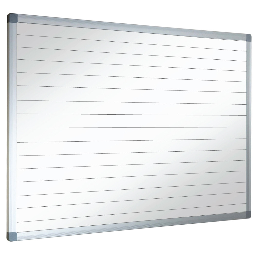 Magnetic Framed Whiteboard With Lines Or Grids