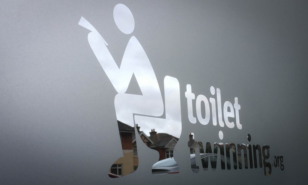 Shop Rebrand For Toilet Twinning