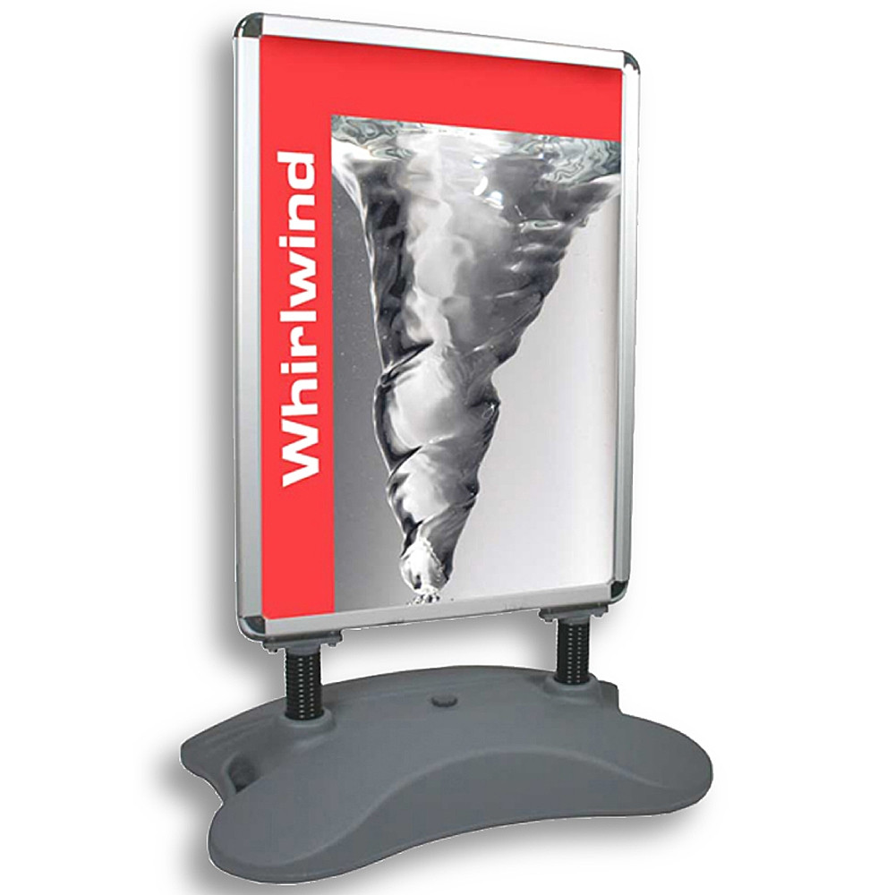 Whirlwind Pavement Sign