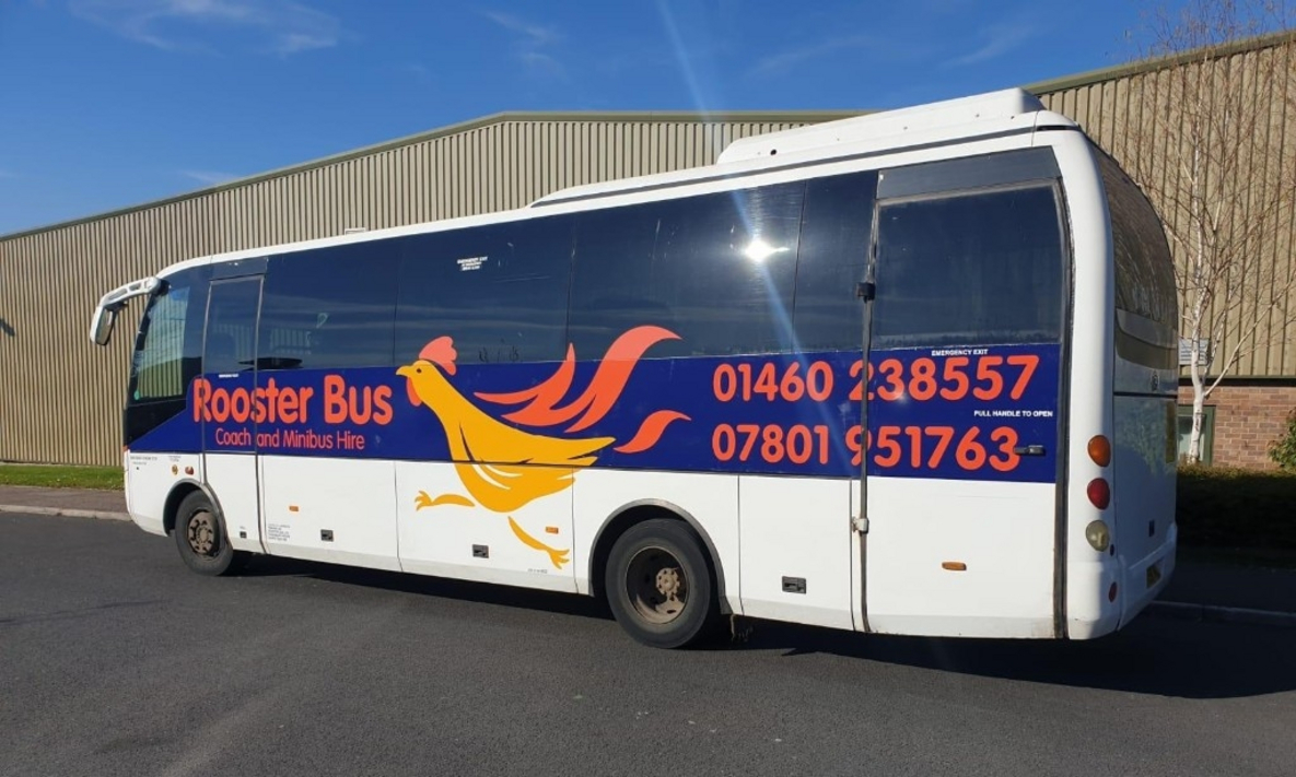 Bus Graphics for Rooster Bus