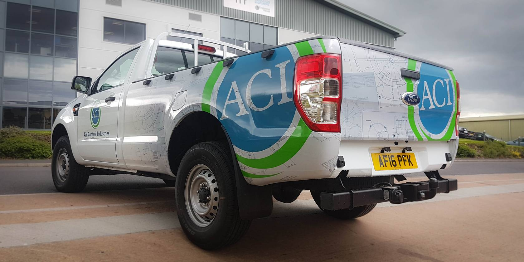 Air Control Industries Vehicle Graphics