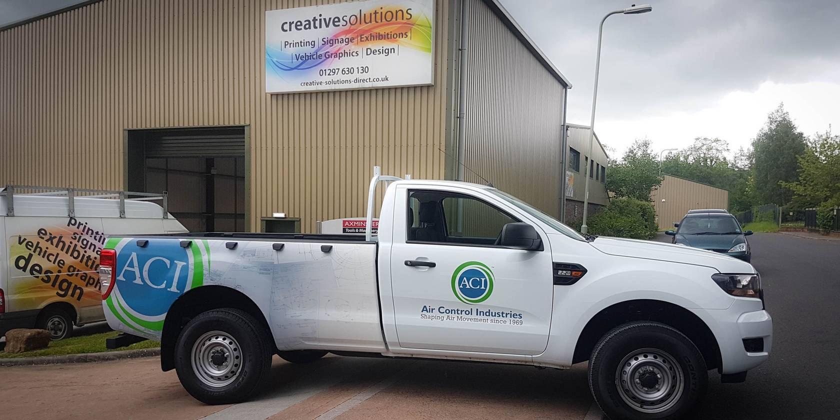 ACI Vehicle Wrap