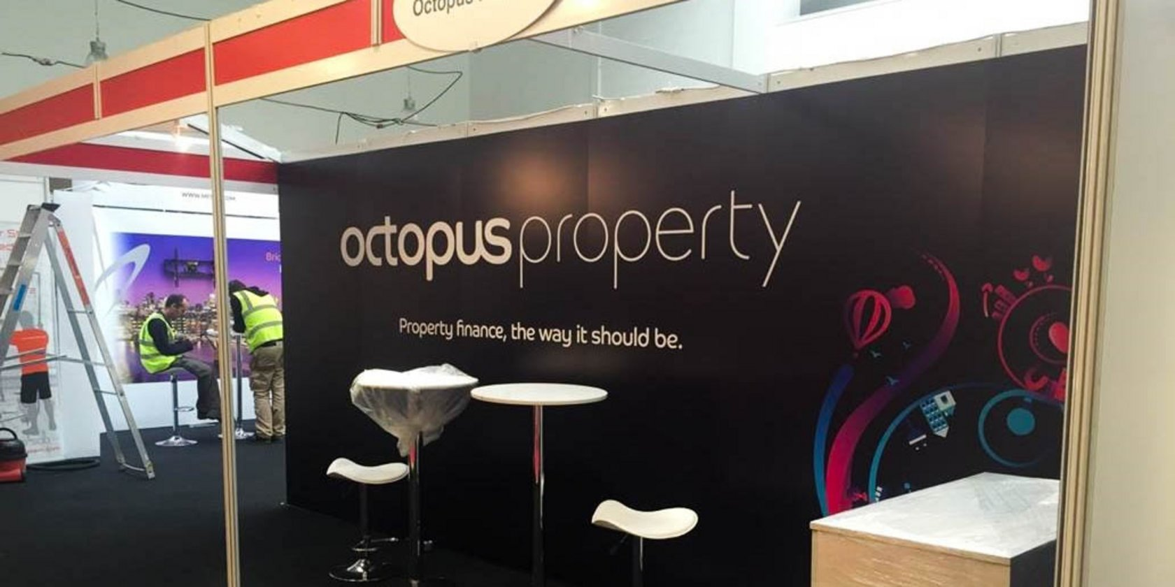 Exhibition Wall Panels for Octopus Property