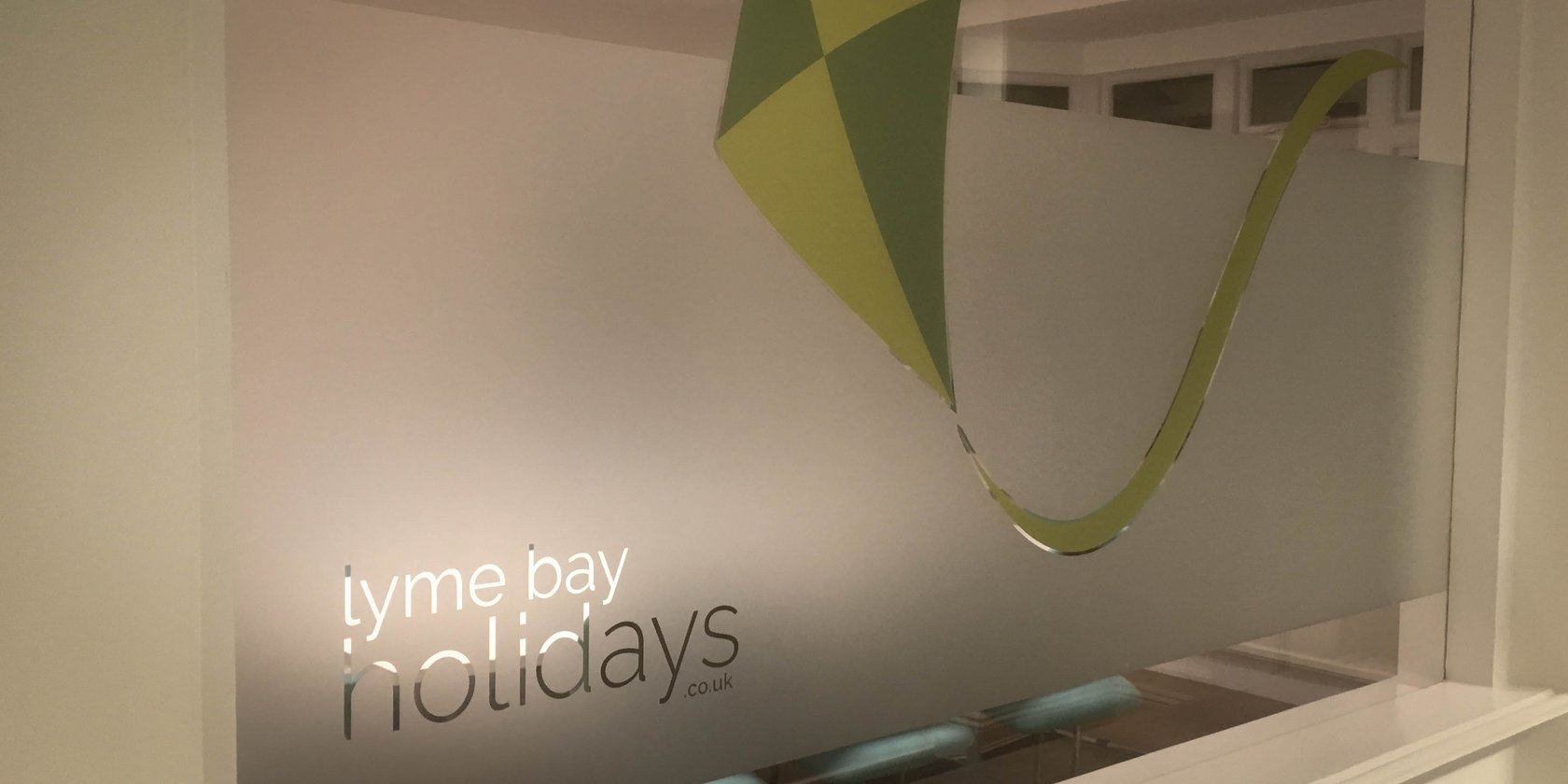 Lyme Bay Holidays Window Graphics
