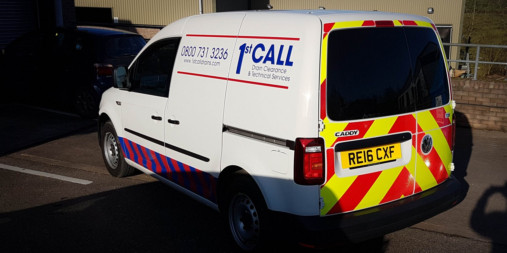 Vehicle Livery for 1st Call