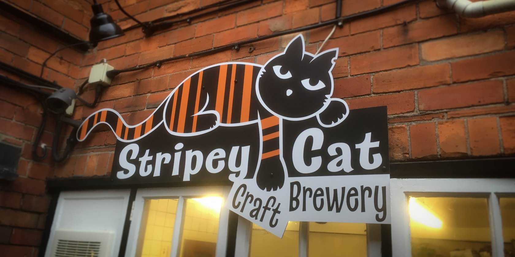 Customised Signage The Stripey Cat