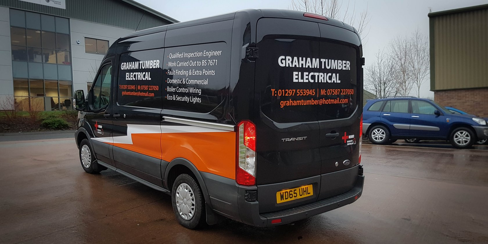 Graham Tumber Electrical Van
