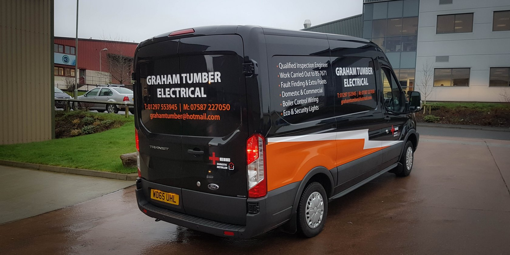 Vehicle Signwriting Graham Tumber Electrical