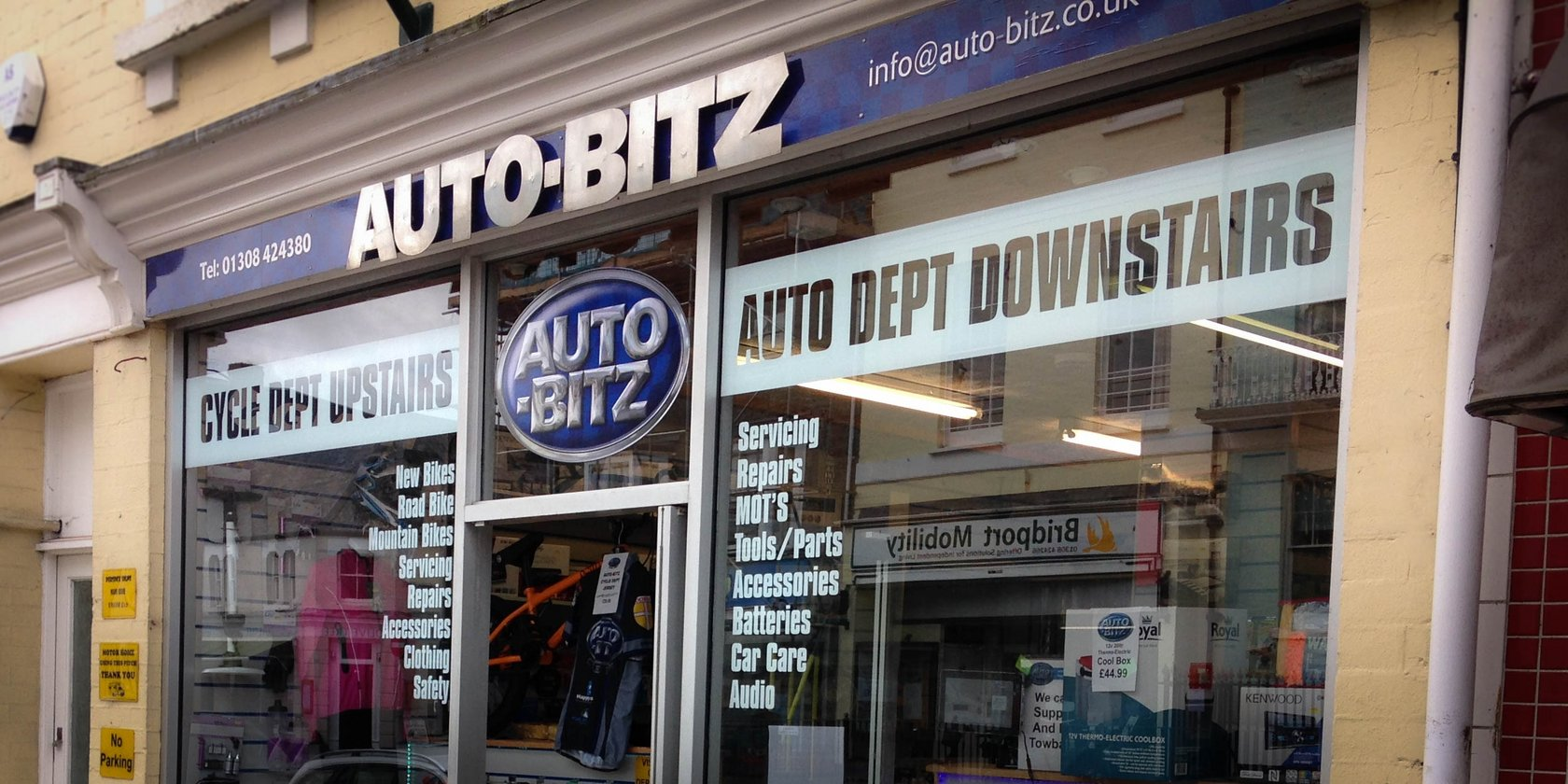 Window Graphics and Shop Signs