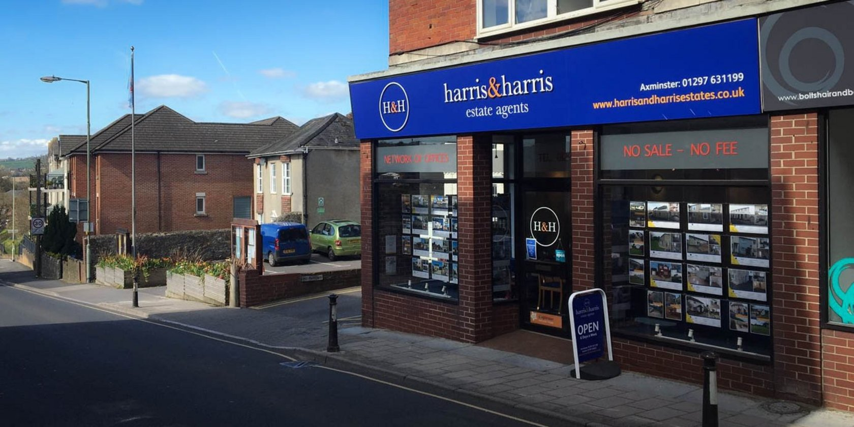 Harris & Harris Estate Agent Signs