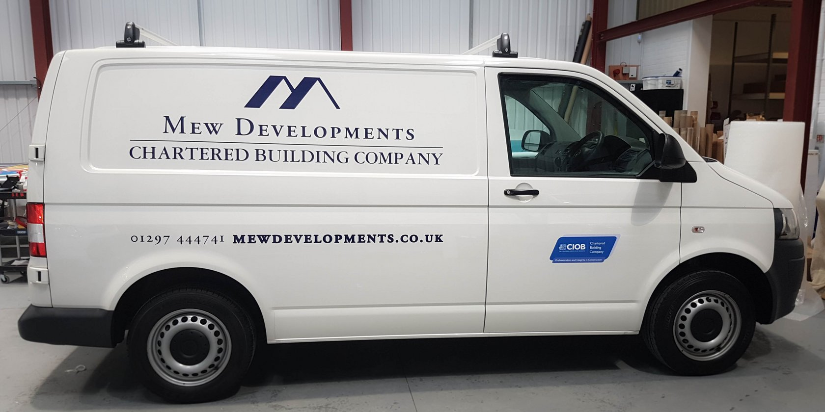 Mew Developments Vehicle Graphics