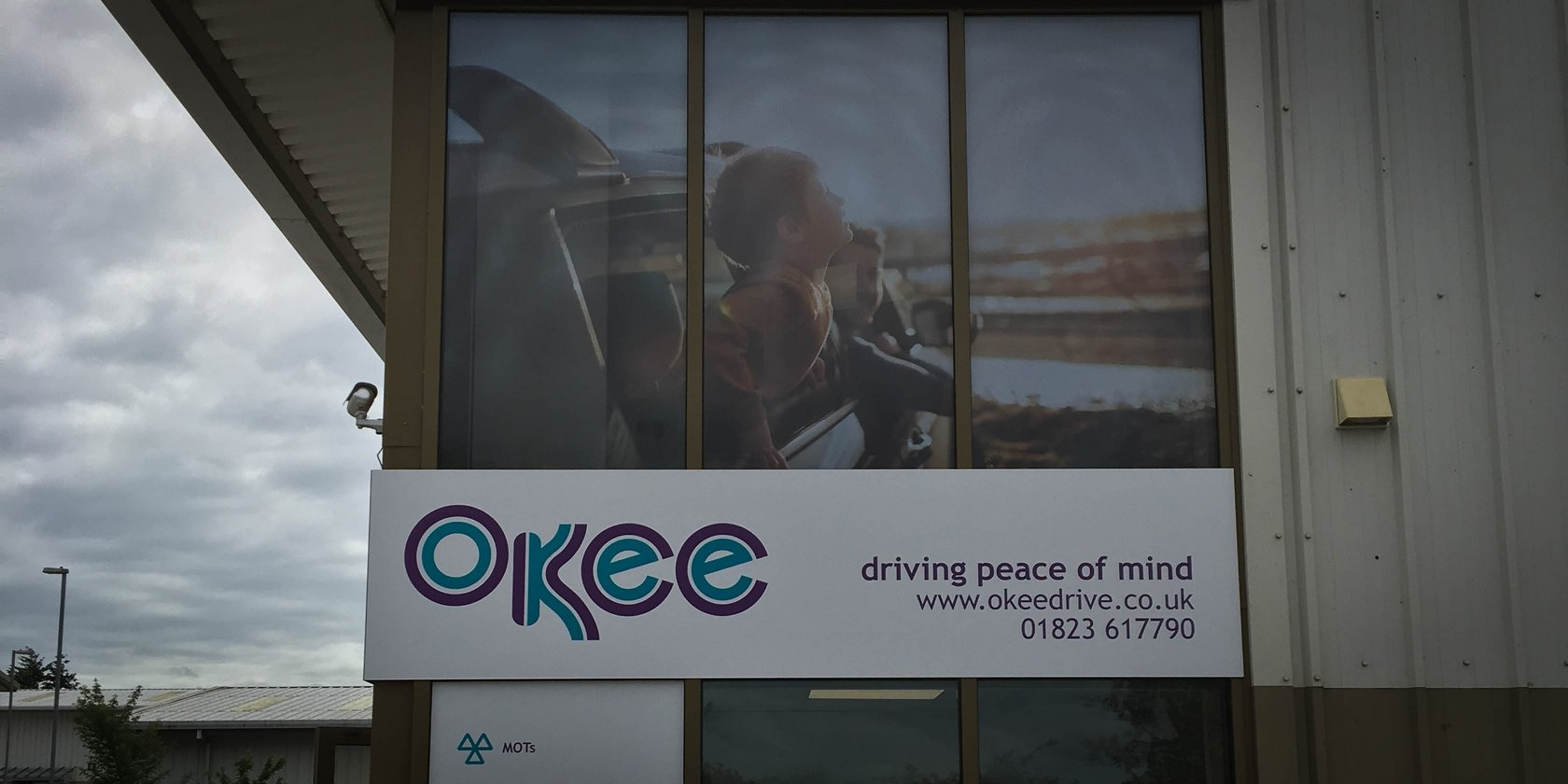 Okee Signage Window Graphics