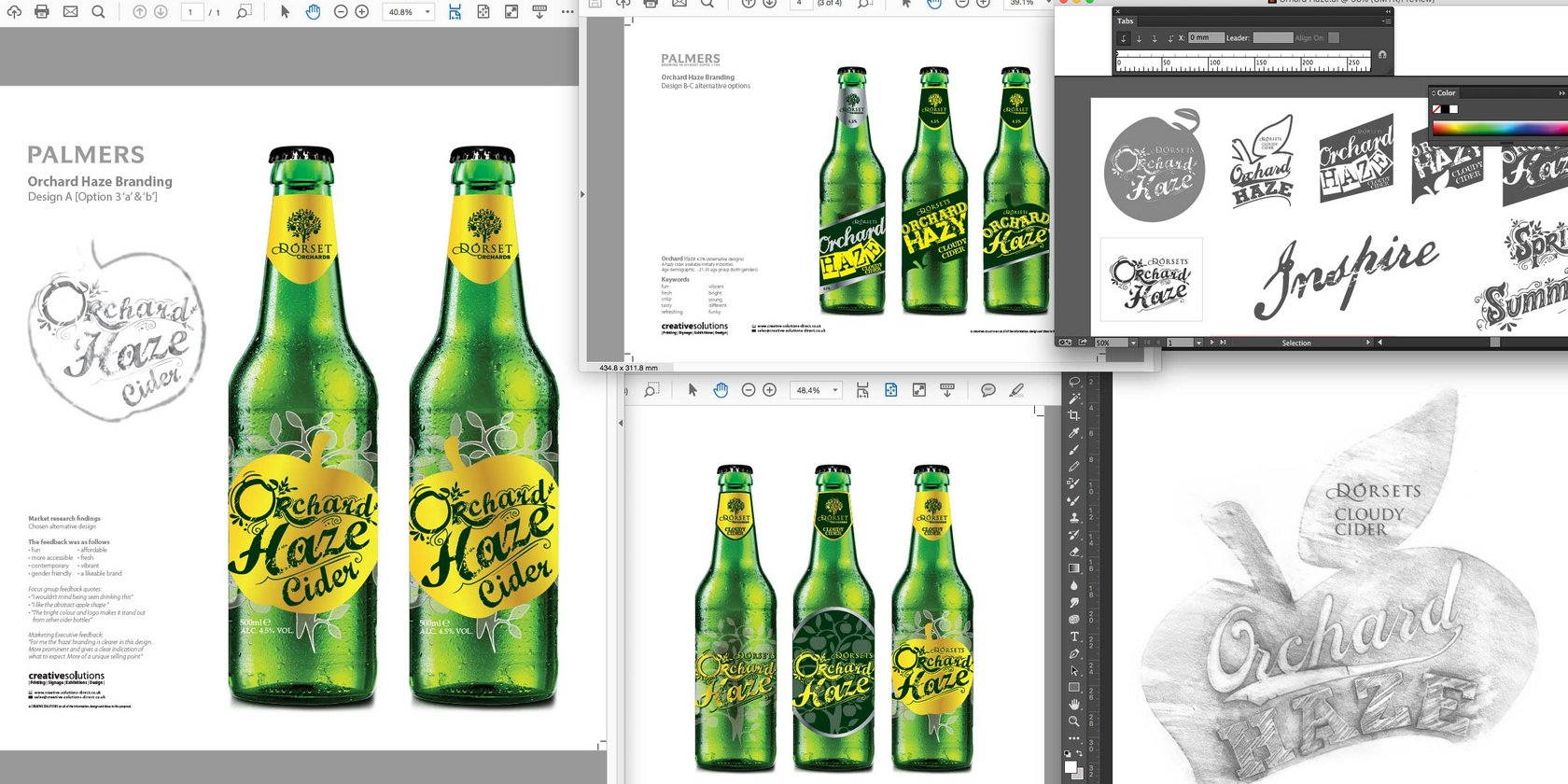 Logo Design for Palmers Brewery