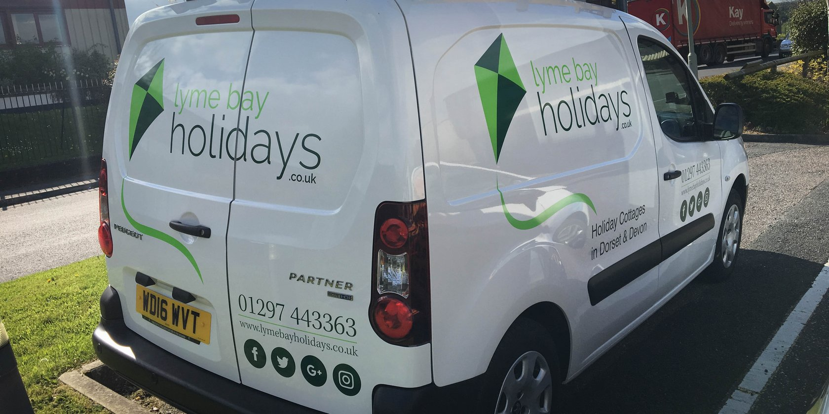 Vehicle Graphics Lyme Bay Holidays