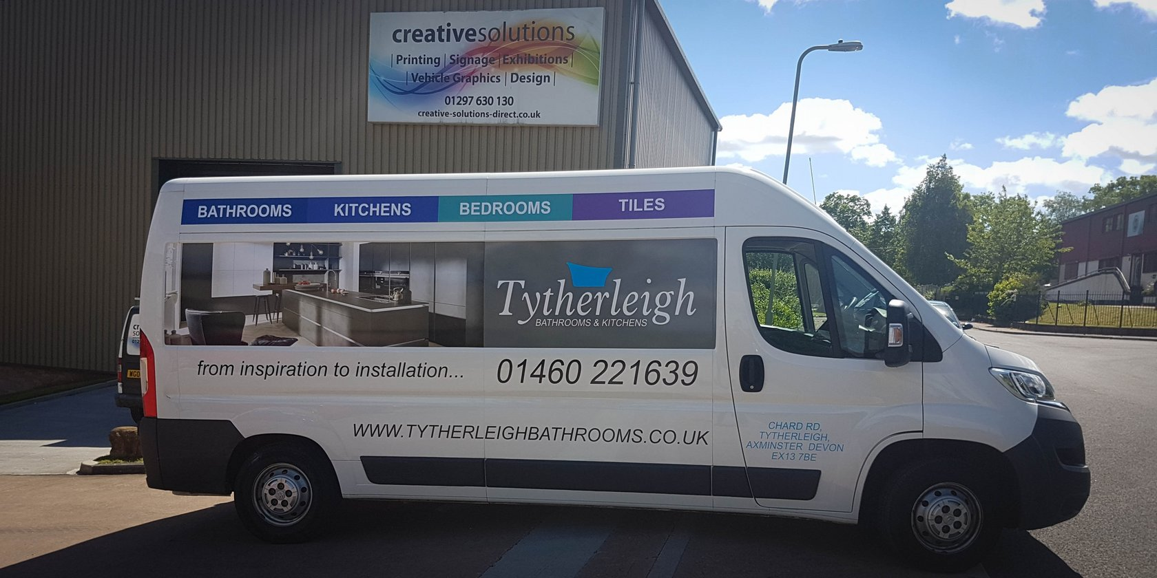 Tytherleigh Bathrooms Vehicle Graphics
