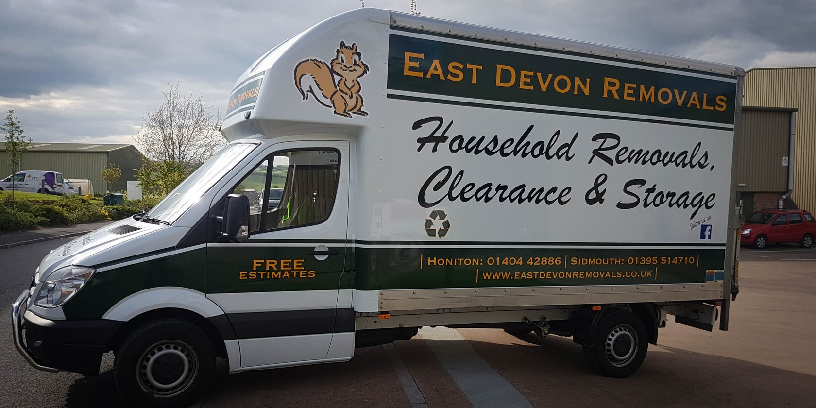 East Devon Removals Van Graphics