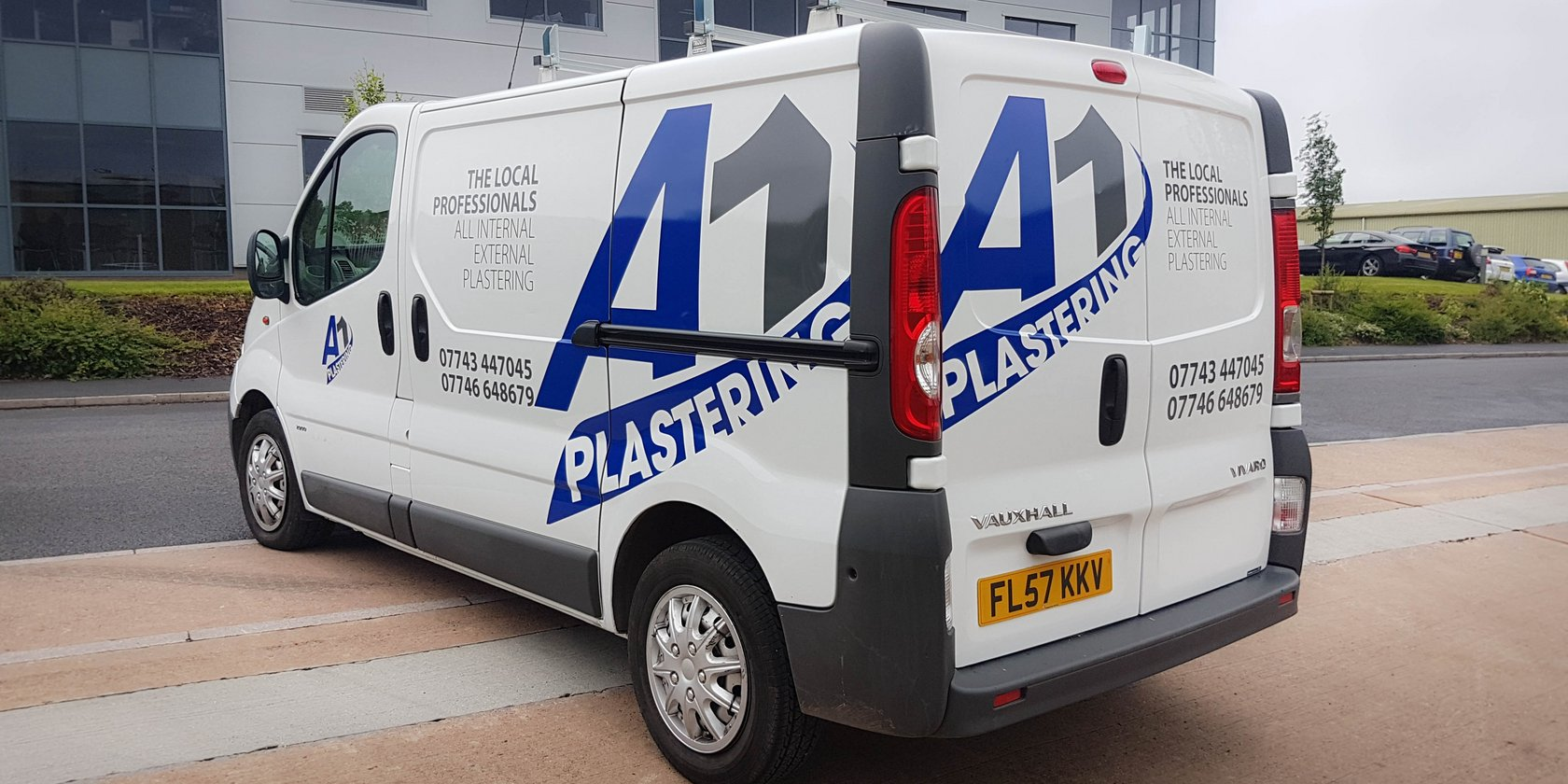 A1 Plastering Vehicle Graphics