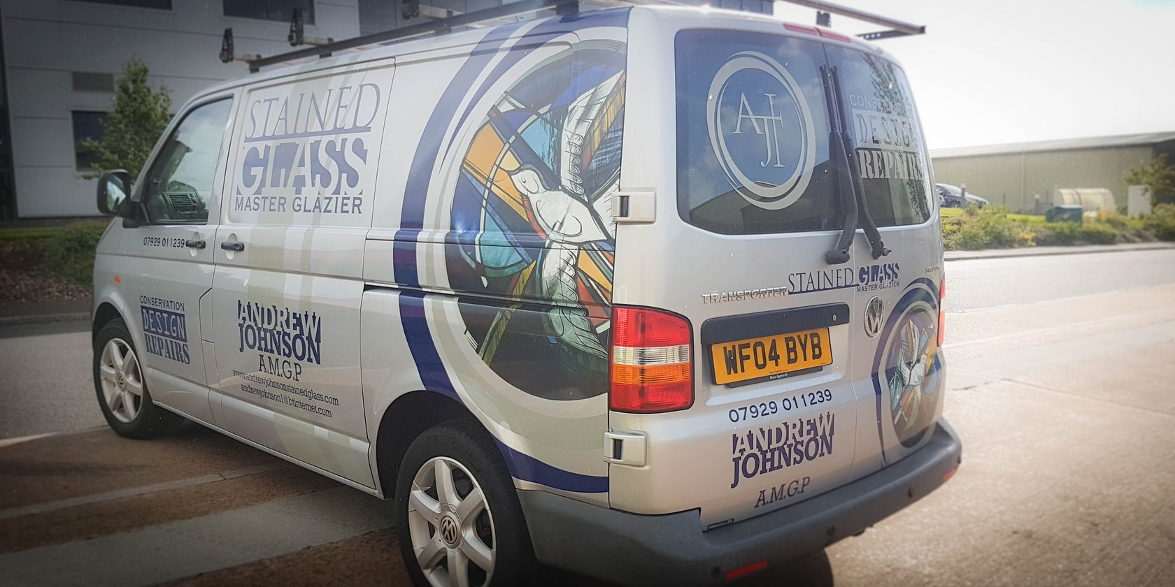 Van Graphics Stained Glass