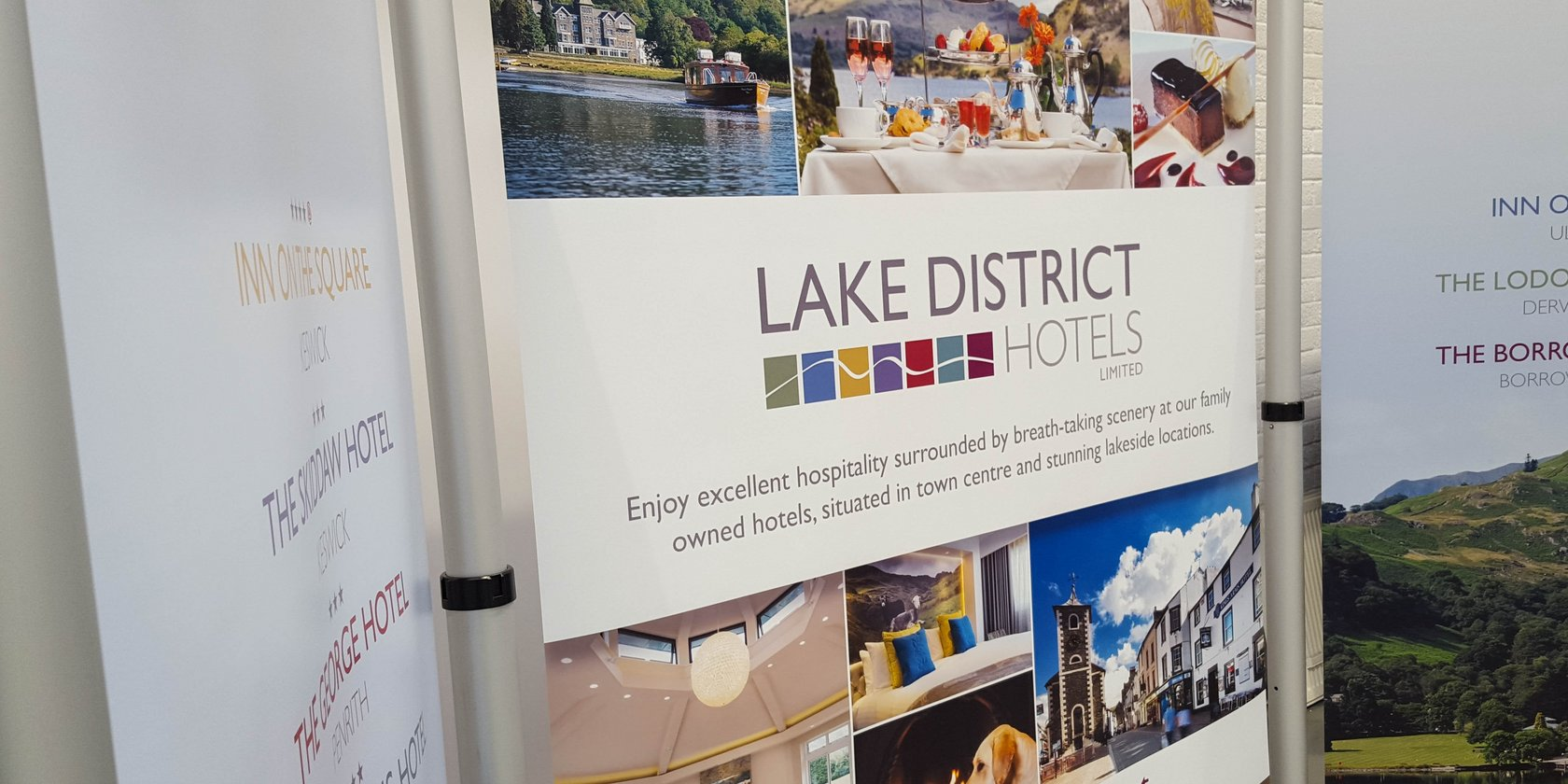 Lake District Hotels POS Display