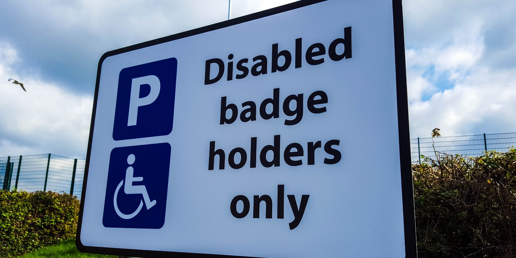 Parking Sign for LED Leisure Centre
