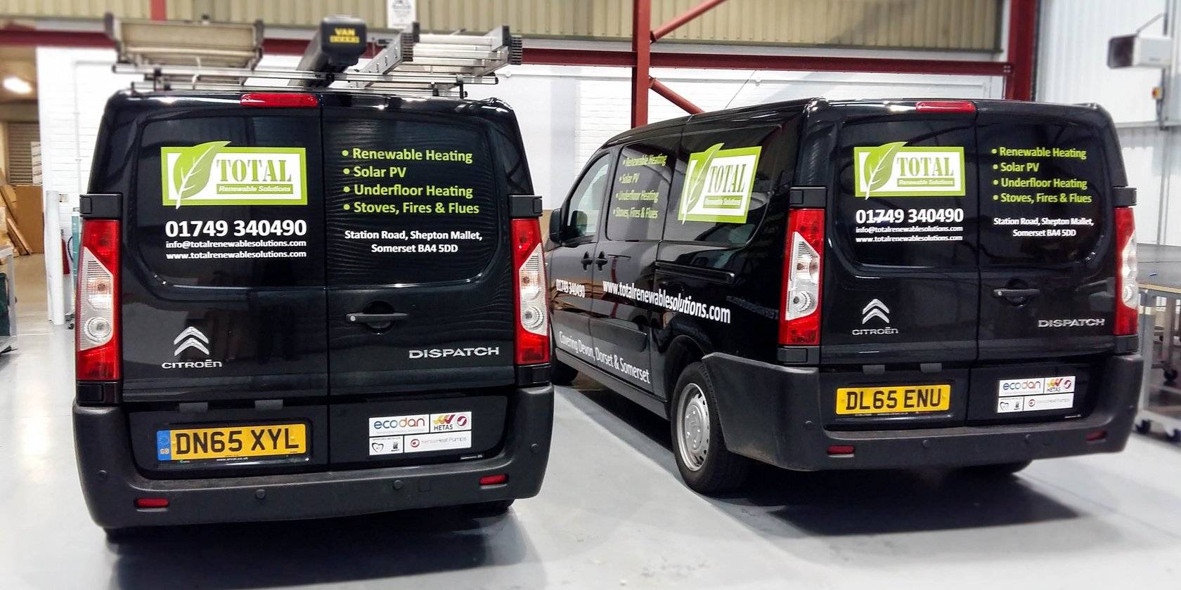 Van Graphics Total Renewable Solutions
