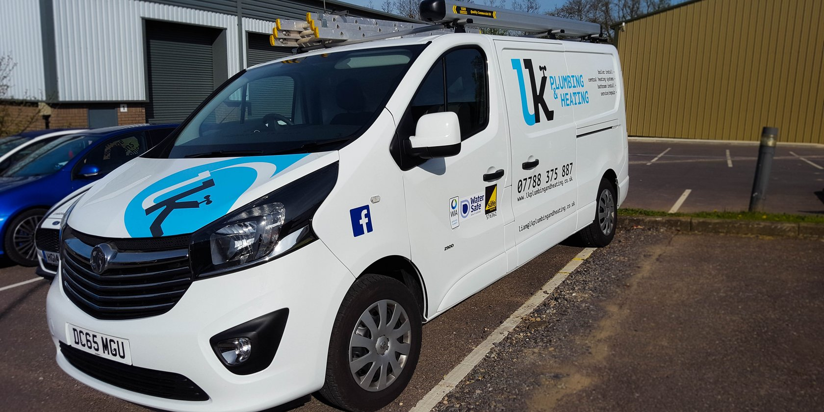 LK Plumbing Vehicle Graphics