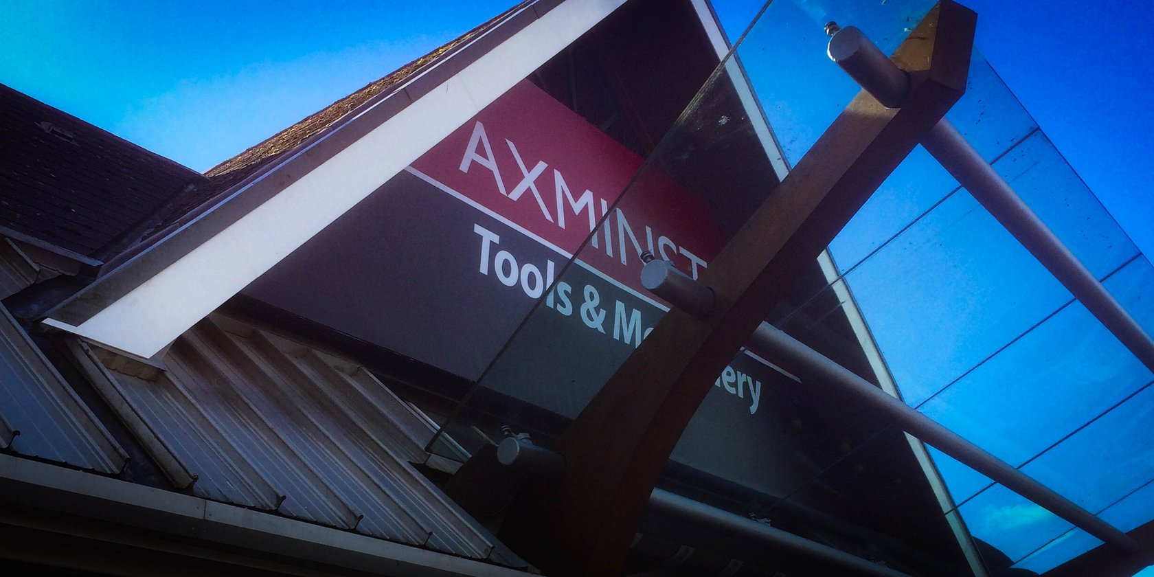 External Signs for Axminster Tools by Creative Solutions