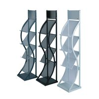 Wave Literature Rack Colour Options