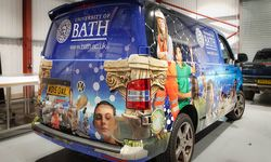 Vehicle Wrapping for The University of Bath