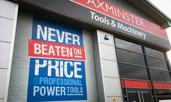 Roller Door Vinyl Wrap for Axminster Tools
