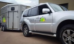 Vehicle Graphics for Just Gin: Graphic Design and Installation