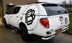 Vehicle Graphics for BB Valeting, Bridport