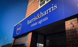 Signage Rebrand for Harris & Harris, Axminster