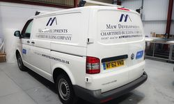 Vehicle Graphics Designed and Installed for Mew Developments