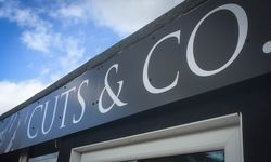 Shop Fascia Sign for Cuts & Co