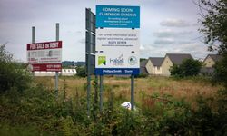 External Post Mounted Signage for Halsall Homes