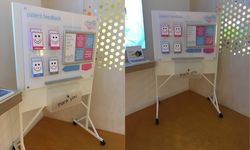 Custom Display Board for Chime Health, Exeter
