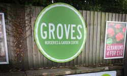 External Signage for Groves Nurseries, Bridport
