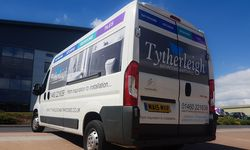 Van Graphics for Tytherleigh Bathrooms