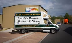 Vehicle Graphics for East Devon Removals & Storage
