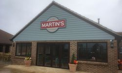 Custom Shaped Signage for Martins Bar