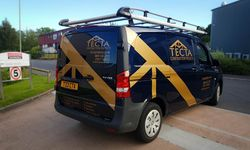 Vehicle Graphics Design & Install for TECTA