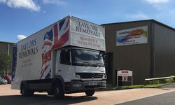 HGV Graphics for Taylors Removals