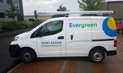 Van Signwriting for Evergreen Renewables