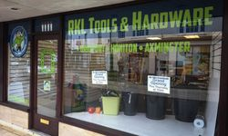 Shop Signage for RKL Tools, Axminster