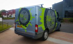 Vehicle Graphics Design and Install for Pete Gruitt & Son