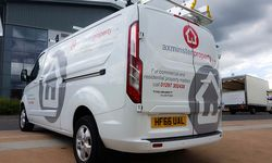 Van Graphics for Axminster Properties