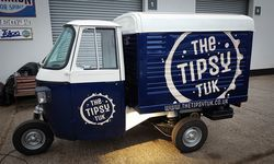 Vehicle Signwriting for The Tipsy Tuk